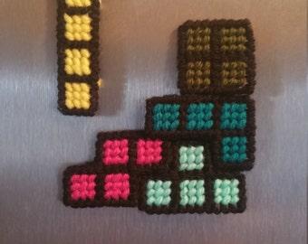 Tetris Magnets Set of Five
