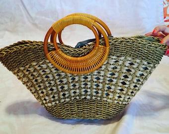 Betmar Straw Bag