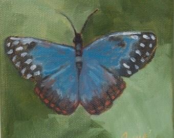 Original Oil Painting/art/butterfly/home decor/fine art