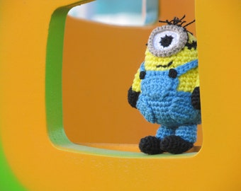 Crochet Minion toy