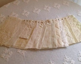 Lot of 16 Bella Notte Fabric Swatches Champagne/Cream