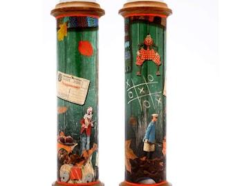 glasswork stained glass handmade kaleidoscope fall edition