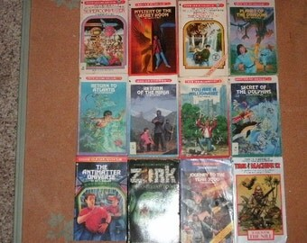 21 Choose Your Own Adventure Books + Other Similar - Lot 2