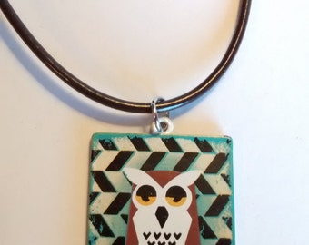 Curious Owl Necklace
