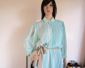 Vintage dress dress robe Fink model Germany 70s