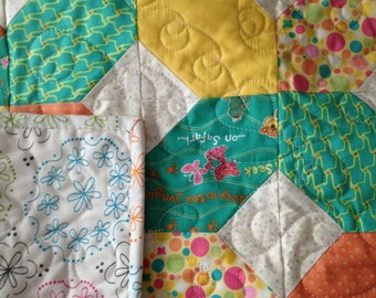 x&o's  baby quilt