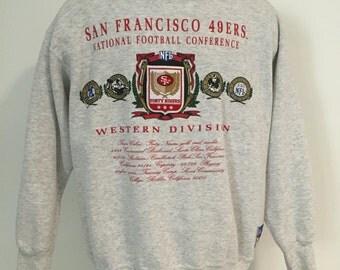 Vintage San Fransisco 49ers Sweatshirt L