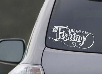 Fishing hunting animal pickup SUV Car Rear Window truck Fisherman Pike Hunter Boat  Catching  Carp laptop  bumper sticker Decal vinyl