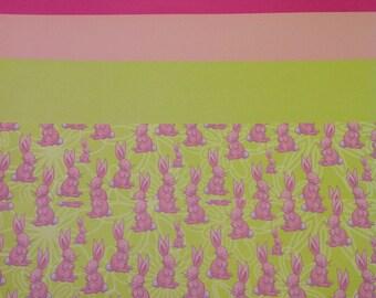 Bunnies Easter Scrapbook Paper