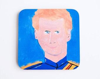 Prince Harry Cork Coaster, Prince Henry of Wales, Royal Family UK