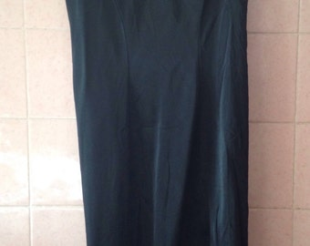 Combination, bottom of black vintage dress