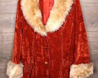 Vintage Orange Coat
