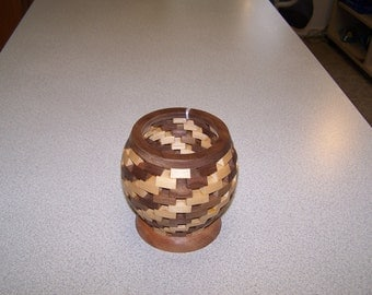 Segmented Candle Holder (Stock #: 009)