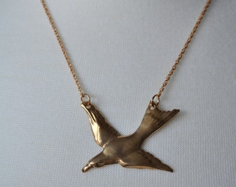 Bronze Sparrow Necklace