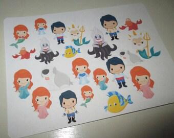 Unda Da Sea! Character Stickers