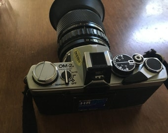 Olympus OM2 Camera Kit (Camera, Lenses, Flasher, Carry Case)