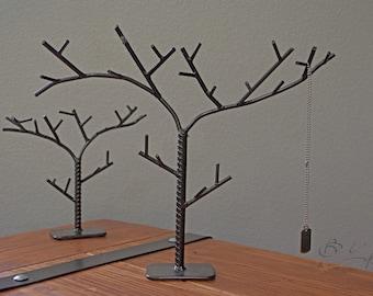 Rustic Tree Jewelry Holders