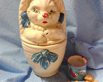 Hull Cat Cookie Jar
