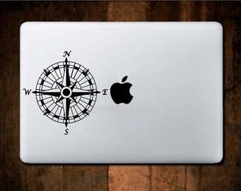 Decorative Compass Vinyl Decal/Sticker