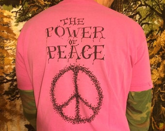 the POWER of PEACE TSHIRT