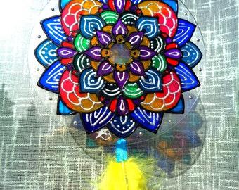 SunCatcher with Mandala: Abyss