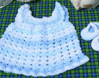 sundress with matching Mary-Janes. 0-3 months