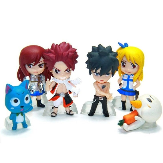 Fairy Tail Anime Cake Toppers