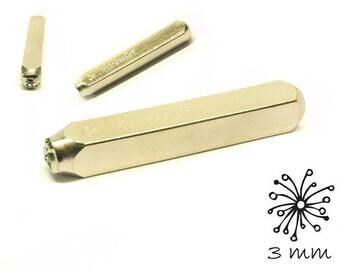 1 design stamp flower 3 mm punch hallmark