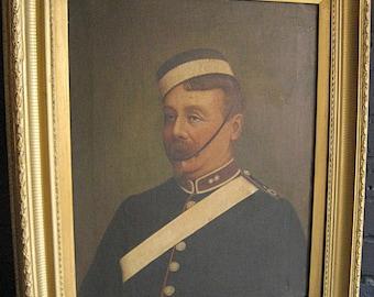 Soldier Oil Portrait