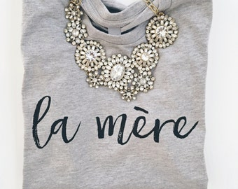 la mère french design in heather gray by jupe & olive
