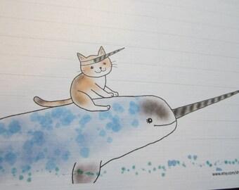 LONG letter / Sea Unicorn - A.