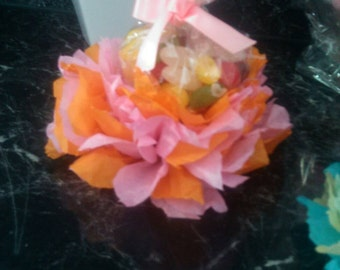 Flower party favour