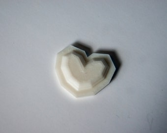 3D printed heart from The Legend of Zelda