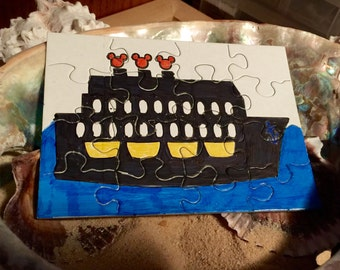 Cruise Puzzle, Great Fish Extender gift for kids, color/ take apart