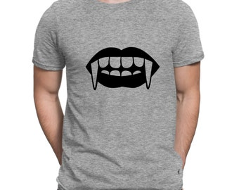 Vampire Fang Lips! Favorite T-Shirt