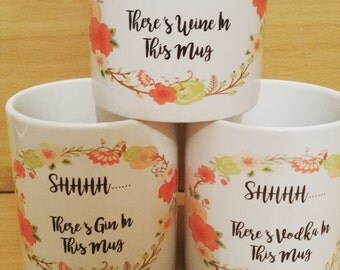 Shhh! There''s. ... in this mug
