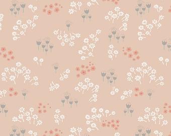 Littlest Collection, Art Gallery Fabrics, Tenderness Peach, Floral Fabric, Nursery Fabric, LT-20031