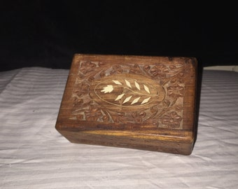 Ornate Wooden Box 1