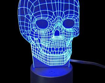 Skull- LED Night Light Lamp
