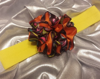 Girls Rainbow Bright Headband
