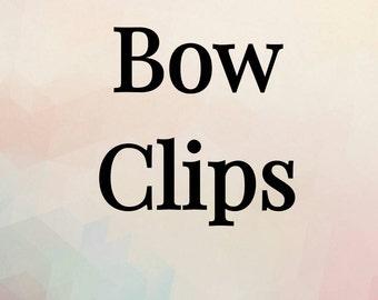 Hair Bow Clips
