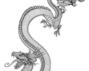 Dragon - original drawing