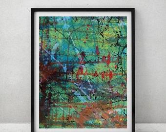 5 Abstract High-Resolution Printable Wall Art, Digital Download Art/Print