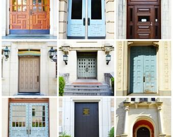 Doors of UT Austin Print
