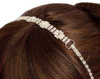 Stunning Hairband with crystal studded elastic band