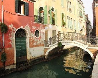 Vintage Venice Bridge