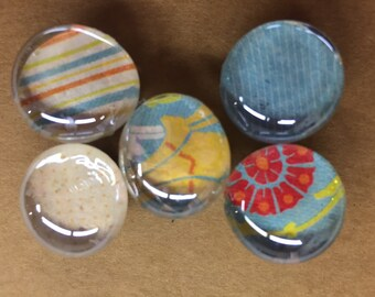 Glass magnets. Fridge magnets.  Refrigerator magnets.  Locker magnets.  Party favor.  Teacher gift.