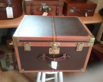 Fabulous Vintage Hat Box Trunk