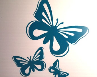 Butterflies Vinyl Decal