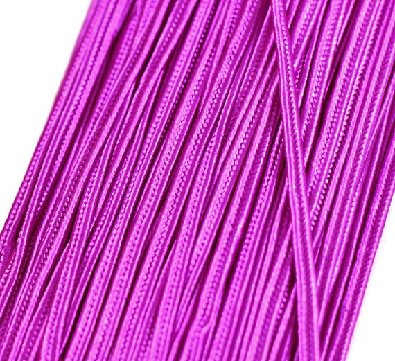 5 m rayon Soutache braid 3 mm, flat trim braids, cord for ...